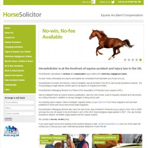 HorseSolicitor   Equestrian Accident Compensation Lawyers Call 01446 794196 to speak with one of the team.   Horse Solicitor