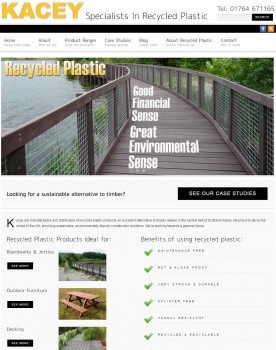 Kacey Limited   Specialists in Recycled Plastic