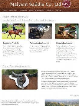 Malvern Saddle Co   Leather Craftsmanship for Equestrian and Automotive