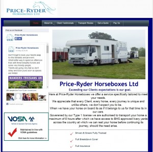 Price Ryder Horseboxes Ltd