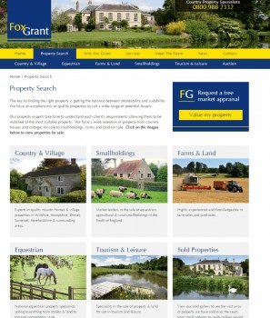 Property Search   Countryside Homes For Sale   Fox Grant