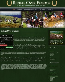Riding over Exmoor   Brendon Manor Farm and Riding Stables