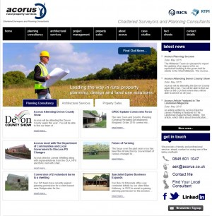 Rural Planning   Chartered Surveyors   Acorus Rural Property Services