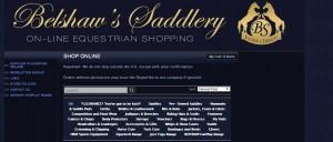 SHOP ONLINE   Belshaw s Saddlery online equestrian shopping