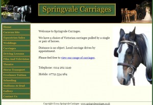 Springvale Carriages