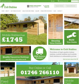 Stables for Sale   Mobile Field Shelters   Colt Stables