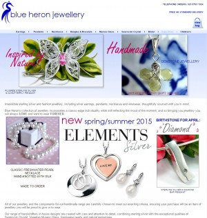 Sterling Silver  Gemstone  Swarovski Crystal and Murano Glass Jewellery.