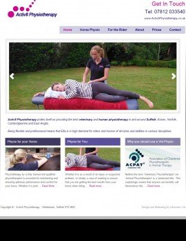 Suffolk Horse and Rider Physiotherapy