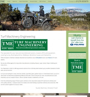 TME   Turf Machinery Engineering