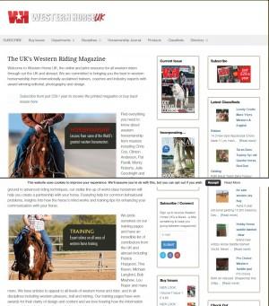 The UK s Western Riding Magazine   Western Horse UK