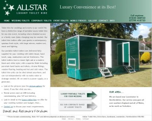Wedding portable luxury toilet hire   a must for weddings from Allstar Toilet Hire.