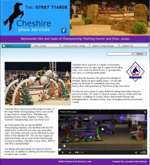 Welcome   Cheshire Show Services