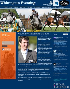 Welcome to Whittington Eventing