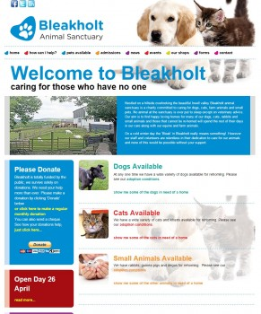 Welcome to the Sanctuary   Bleakholt Animal Sanctuary