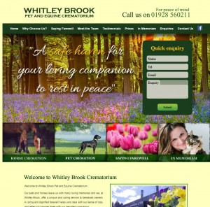 Whitley Brook Pet and Equine Crematorium  Frodsham  Cheshire
