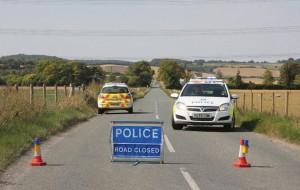 police road closure